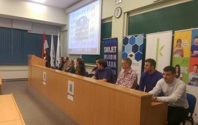 """Javna tribina: """"Kako zadržati mlade u Osijeku?""""."""