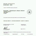 novi ISO Cert