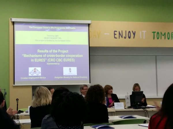 "Projekt ""Mehanizmi prekogranične suradnje u EURES-u"""