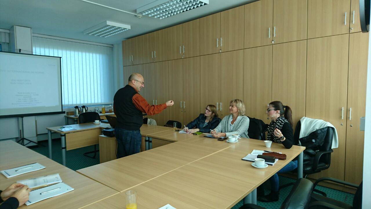 """Seminar """"Revizija norme ISO 9001:2015"""""""