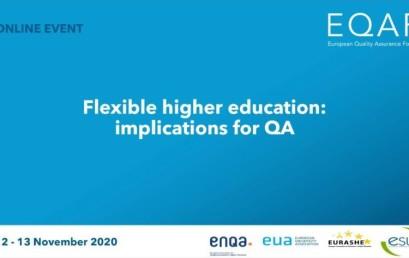 EQAF 2020 – Europski forum o osiguravanju kvalitete
