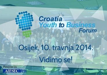 Poziv na Croatia Youth to Business Forum (Y2B)