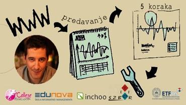 Predavanje Nenada Andrakovića Web stranica u 5 koraka