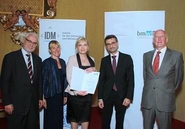 Održana ceremonija dodjele Danubius Young Scientist Award