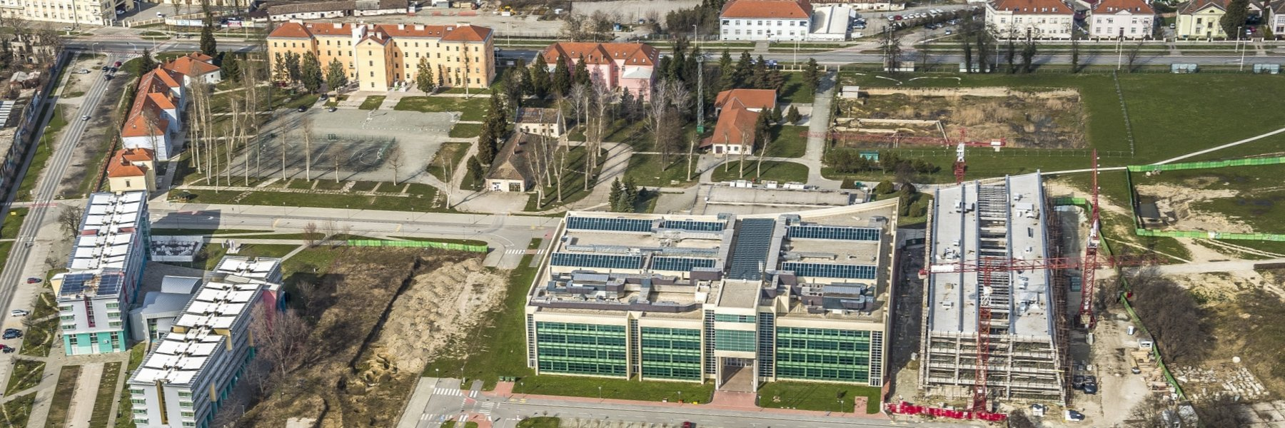 Opening of the new premises of the Faculty of Civil Engineering in Osijek at the campus