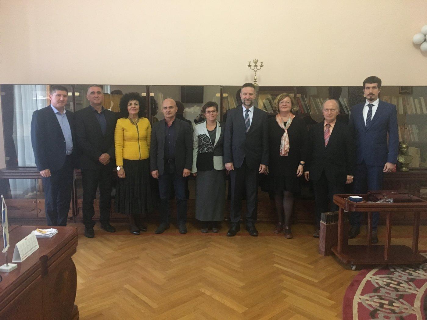 Sastanak Uprave Sveučilišta Josipa Jurja Strossmayera u Osijeku s predstavnicima Hrvatske paneuropske unije