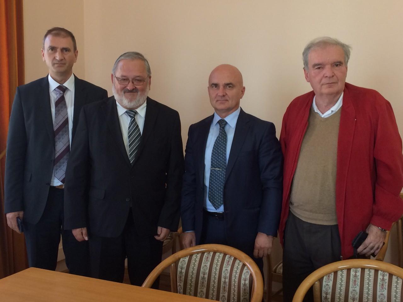 Rektor Sveučilišta u Osijeku primo rektora Univerze v Mariboru